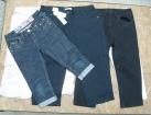 Odzież sortowana - spodnie rybaczki